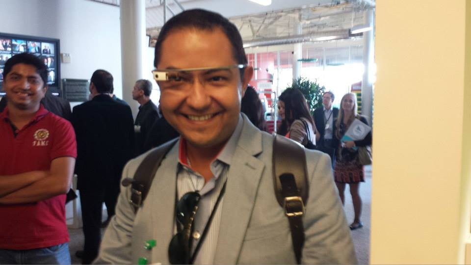 Sede do Google em SF. Google Glass.